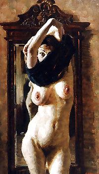 Painted EroPorn Art 138 -  Victor Lyapkalo