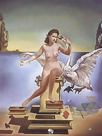 Drawn Ero and Porn Art 46 - Salvador Dali for trex245