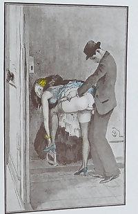 Vintage Erotic Drawings 32