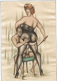 Vintage Erotic Drawings 15