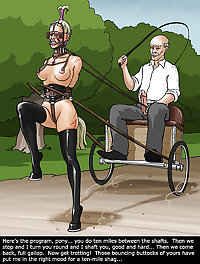 BDSM Stable, comic