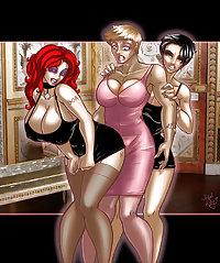 Feminization and sissy toons III