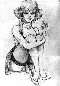 Kimberly Wilder-Tranny Sissy Art
