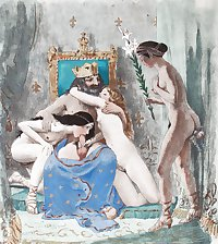 Vintage Erotic Drawings 6