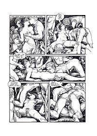 Erotic Comic Art 38 - Summer Vacation
