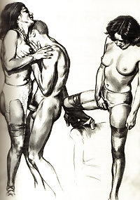 Vintage Erotic Drawings 9