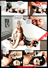 Comic Mailorder Latex Rubber Slave