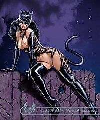 Sexy Black Women.. Aliens, demons, beasts & bondage 11