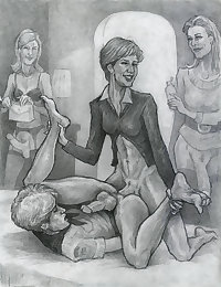 Hot Toon Shemale MILF Cock 1