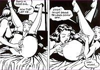 Vintage erotic drawings lesbians 2