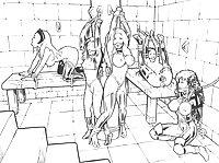 0123-  BDSM Hentai Toons - Bondage