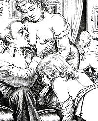 Vintage Erotic Drawings 13