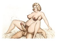 Art toon porno erotic drawings hardcore cartoons vintage