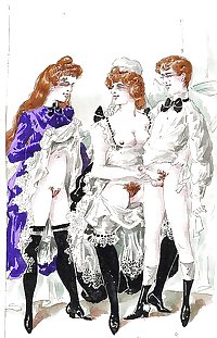 Vintage Erotic Drawings 19