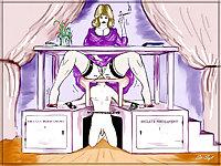 0170- Cartoon Porn-Art - Unbirth and Anal Vore -v.06-