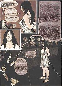 Young Marie-Gabrielles painful destiny (Adult Comic)