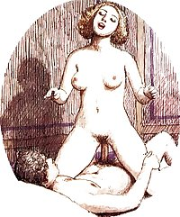 Vintage Erotic Drawings 12