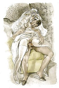 Vintage Erotic Drawings 8