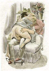 Vintage Erotic Drawings 8