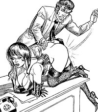 Thematic Drawn Porn Art 10 - BDSM (1)