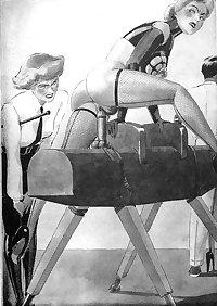 BDSM illustrations & cruel Art