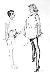 Thematic Drawn Porn Art 8 - Femdom (1)