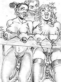 Cartoons or Drawings BDSM 1