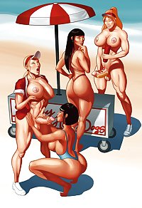 Shemale Futa cartoons 2