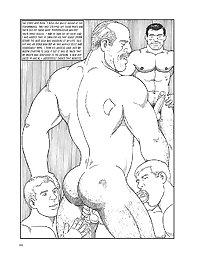 Gay : Toons : Half bald men and twinks