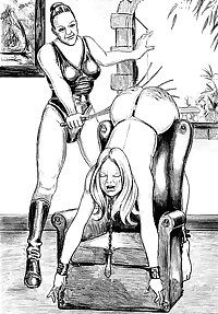 Nude Spanking (Art Mix)