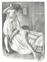 Nude Spanking (Art Mix)