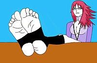 Naruto Hentai Part 12 (Foot Fetish 3)