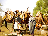 The Slave Market Scenes.