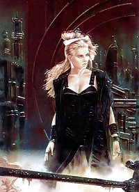 The Fantastic Art of Luis Royo...To Celine