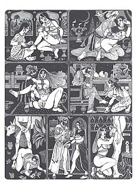 Erotic Book Illustration 23  - Kama Sutra Vol. 1+2