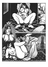 Erotic Book Illustration 23  - Kama Sutra Vol. 1+2