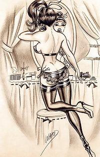 Classic Bill Ward cartoons.