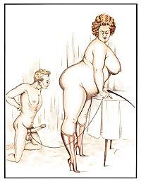 vintage erotic cartoons